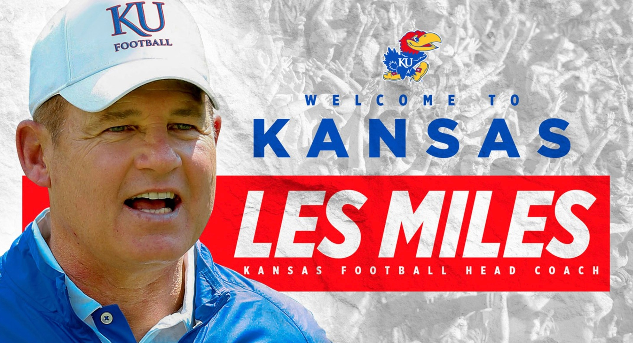 Ncaa Football Bowls 2018 >> Kansas football hires Les Miles as coach | NCAA.com