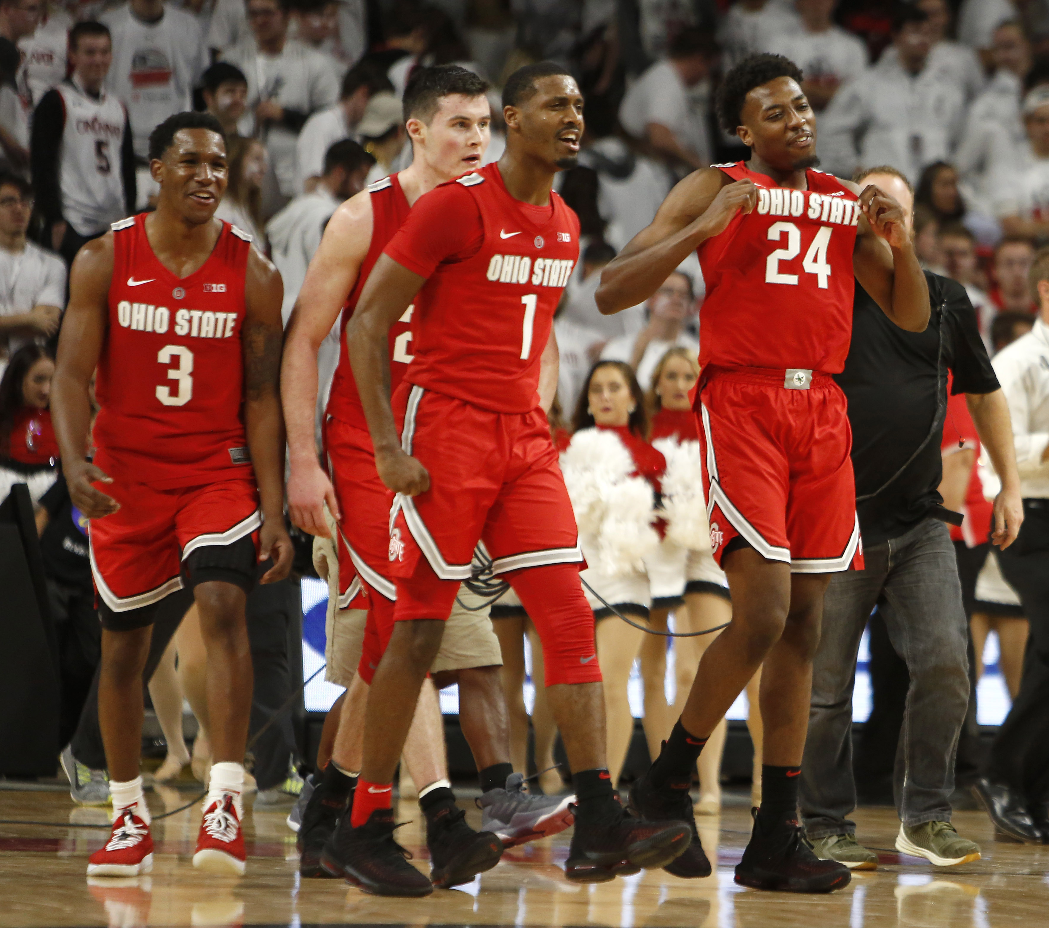 ohio state is no. 1 in the first ncaa net college basketball