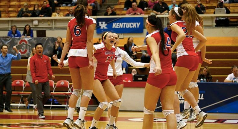 American volleyball owns two of the best upsets in tournament history