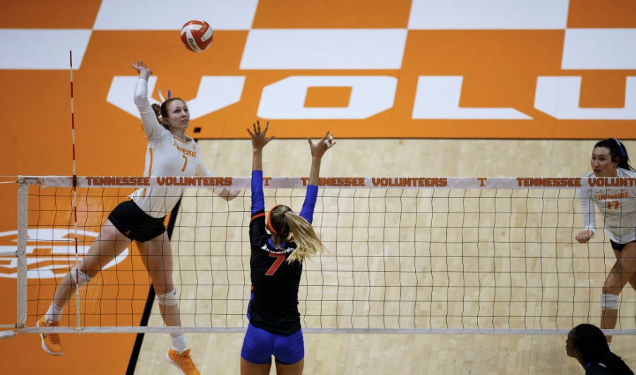 This is this week's NCAA Division I volleyball AVCA national player of the week