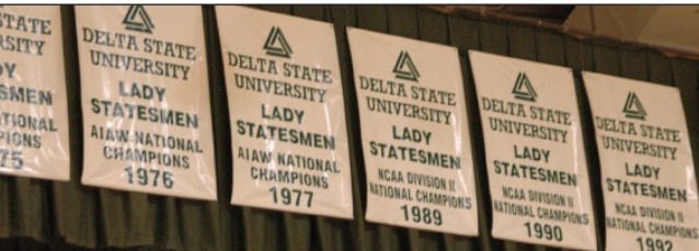 Delta State has won three DII women's basketball titles.