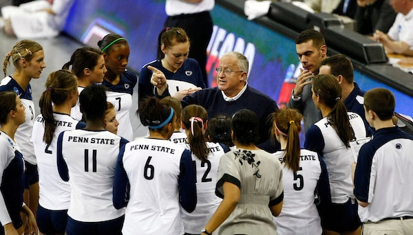 Russ Rose is one of the all-time greats among college volleyball coaches