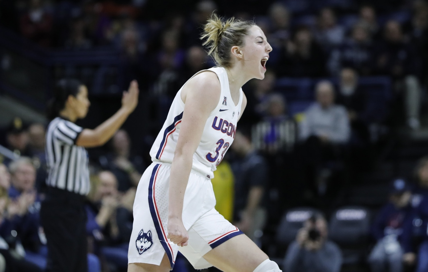 the best attitude 07f3c b4ad8 UConn women's basketball: Katie Lou Samuelson reaches 2,000 ...