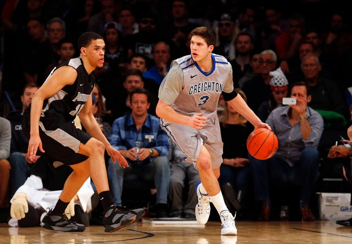 Creighton's Doug McDermott scored more than 3,100 points in his career