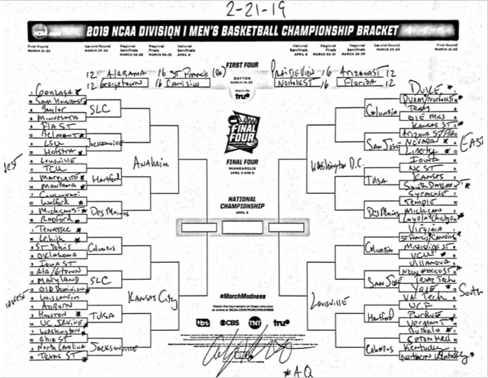 March Madness 2019 Bracket Picks Best Predictions From: The Complete March Madness Field Of 68 Predicted Less Than