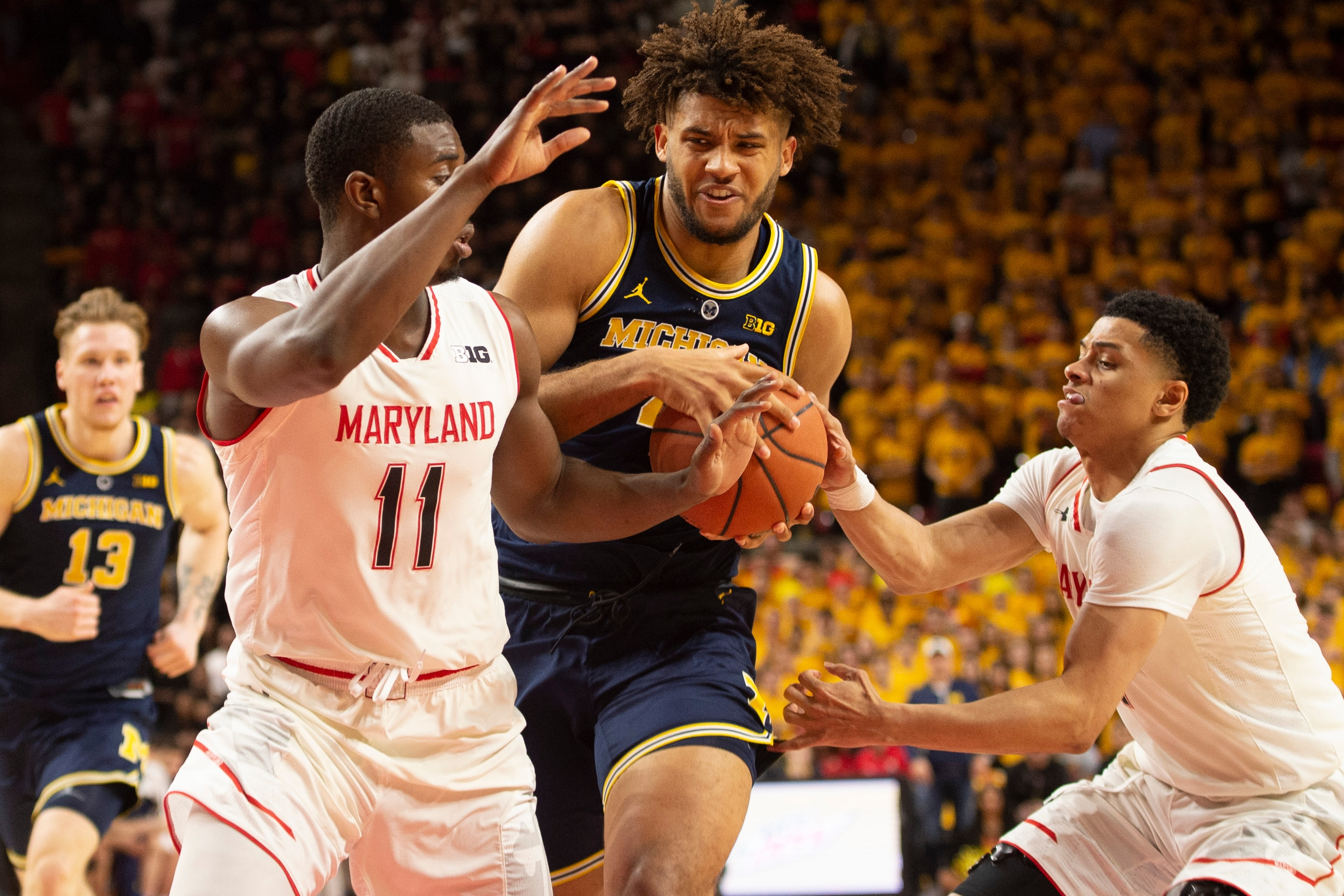 4524a67d7d2 Michigan-Maryland score  Wolverines escape College Park with impressive  victory