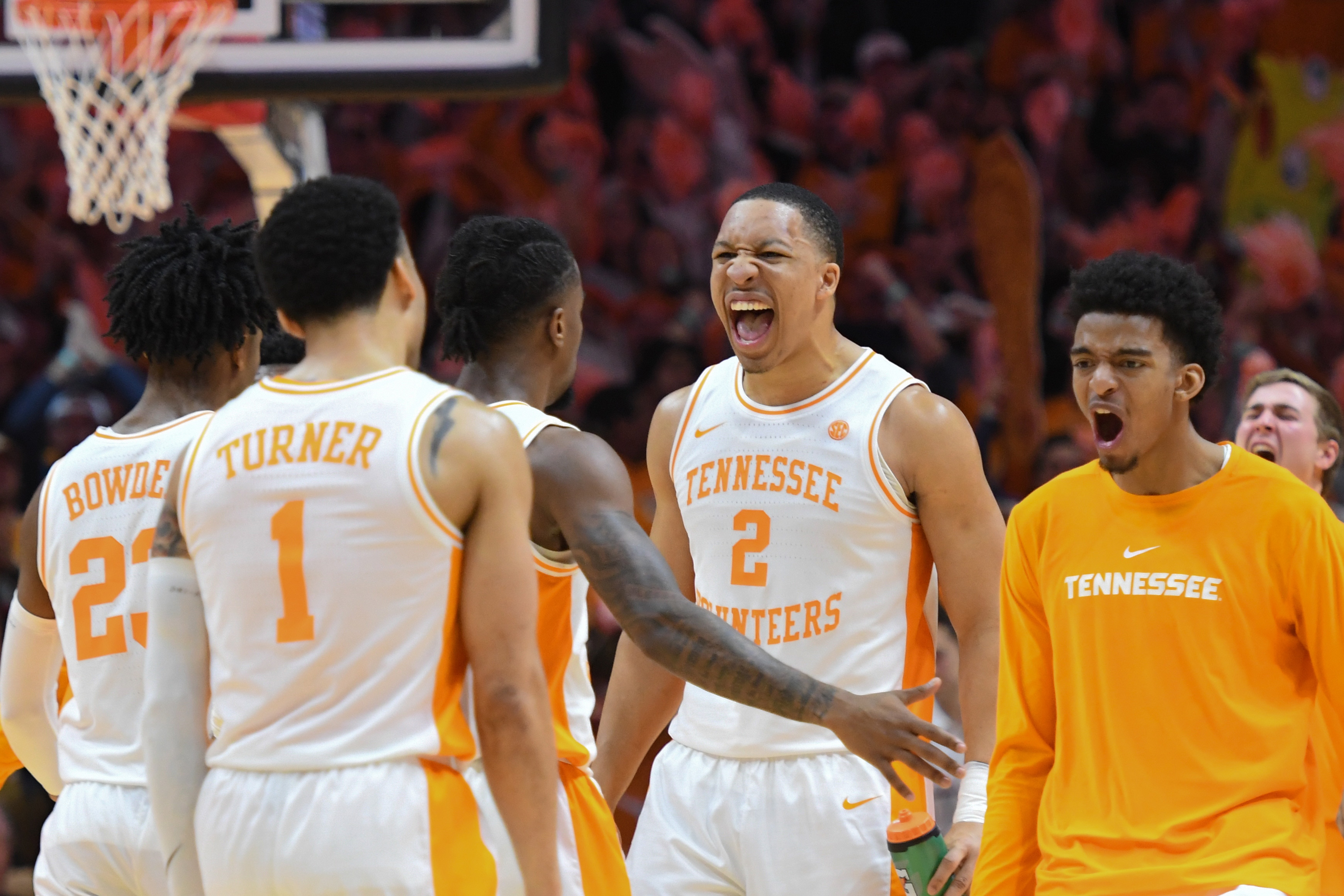 College Basketball Rankings Tennessee Welcome Back To Andy