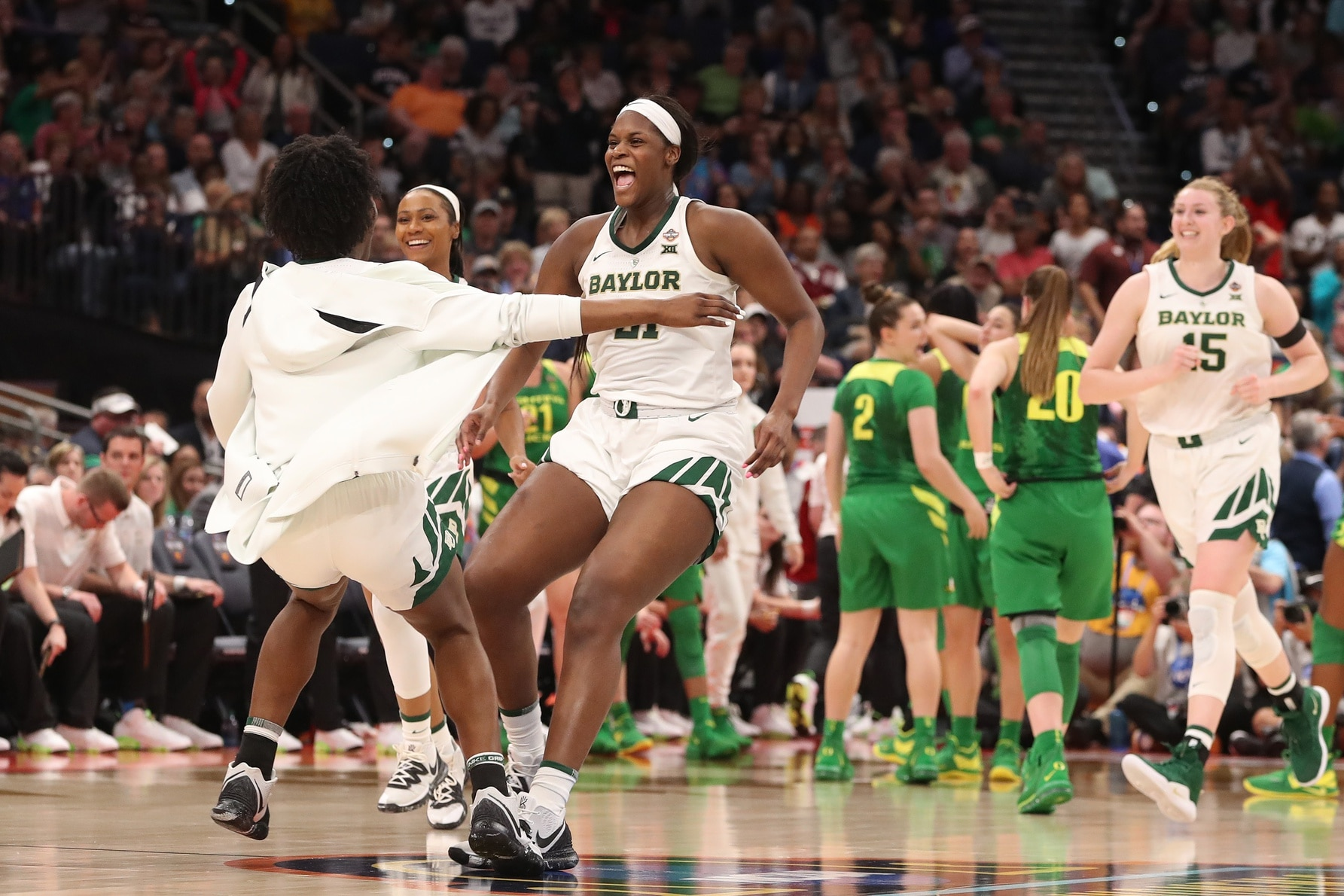 dd63a3bd7bd Baylor s Kalani Brown and Kim Mulkey have a long history. Sunday s national  championship adds another chapter