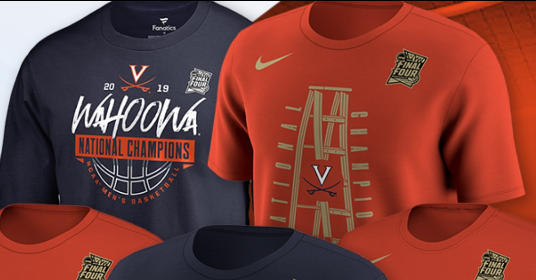 01914d93e36 March Madness gear  How to buy 2019 Virginia NCAA tournament championship  gear