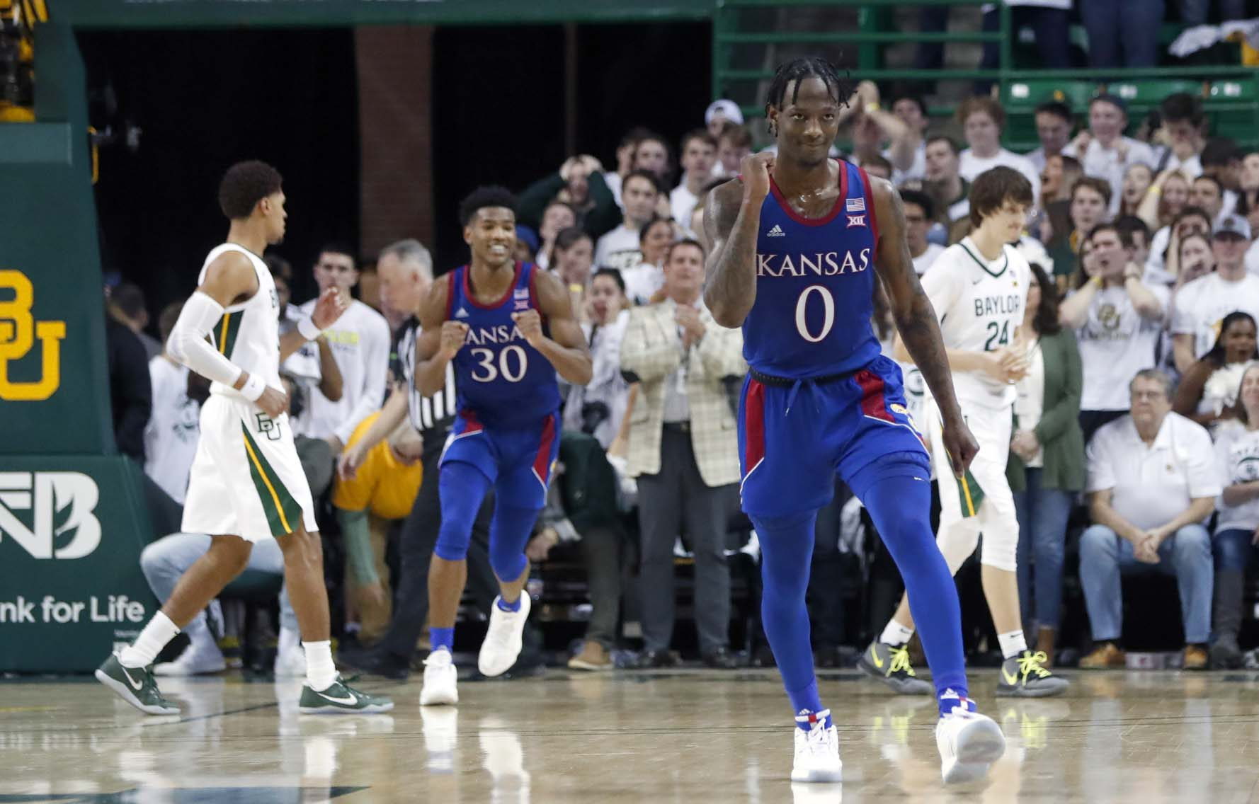 College Basketball Rankings Kansas Moves To No 1 In Latest Power