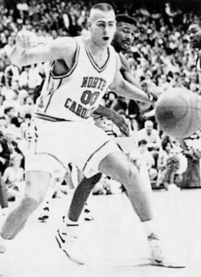 Aaron Rohlman North Carolina Basketball Jersey-Black