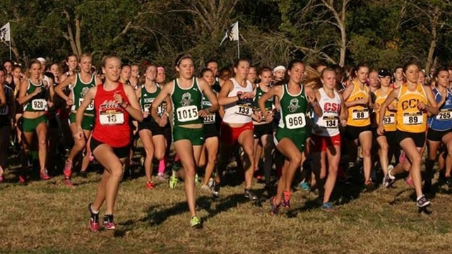 Women's Cross Country, Division II, South Central