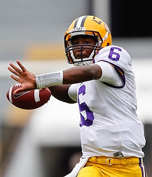 LSU QB Brandon Harris