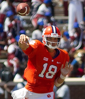 Cole Stoudt threw five TD passes in 2013.