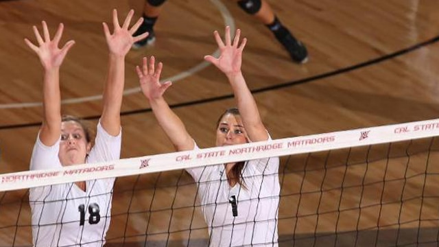 volleyball, cal state northridge