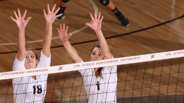 volleyball, cal state northridge