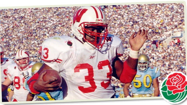 Wisconsin Football Nov 13 1999 Ron Dayne Becomes College