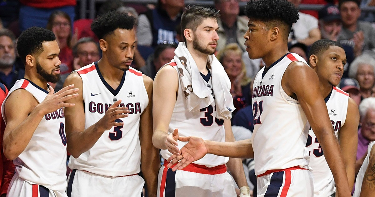 Gonzaga Topped San Francisco 88 60 In The WCC Semifinals On Monday