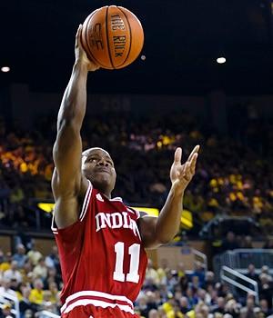 Yogi Ferrell led Indiana in scoring last season with 17.3 ppg.