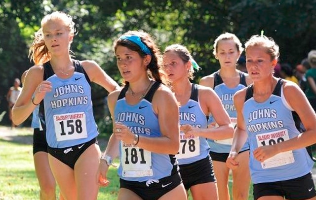 women's cross country, division III, Johns Hopkins