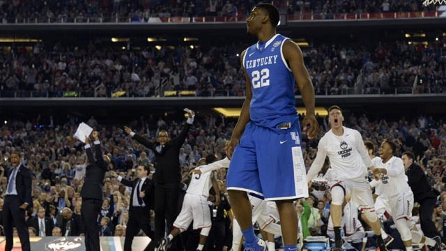 There were times Kentucky looked to be coming back, but its rallies fell six points short.