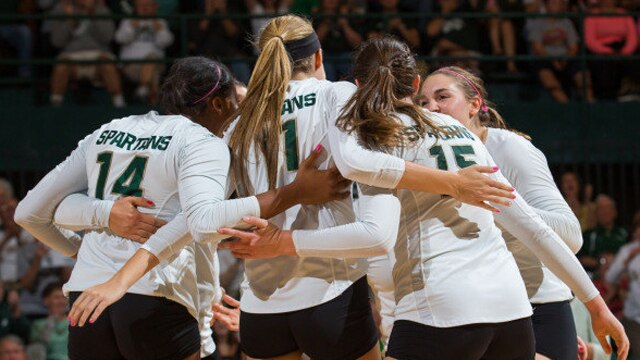 volleyball, michigan state