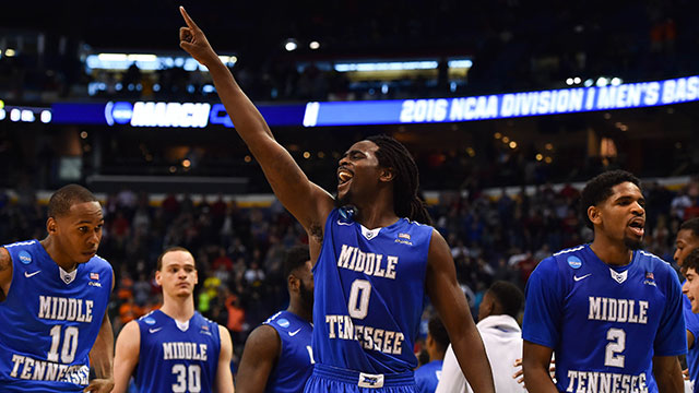 March Madness Last Perfect Busts After 26 Games Middle Tennessee Came Away With A Huge Upset Over Michigan State On Friday