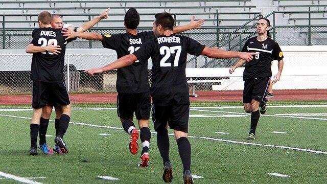 Men's soccer, division II, Millersville