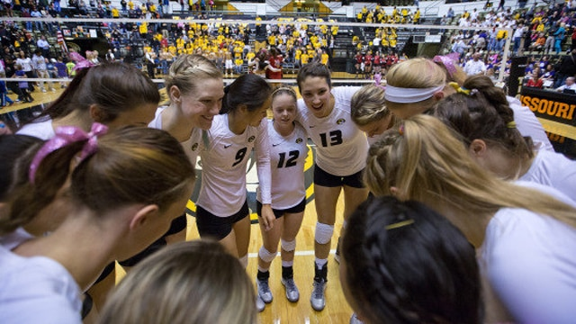 Volleyball, Mizzou, Division I, Womens