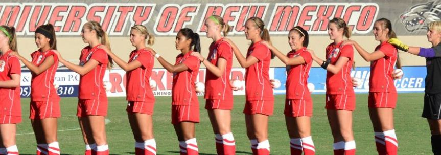 New Mexico women's soccer