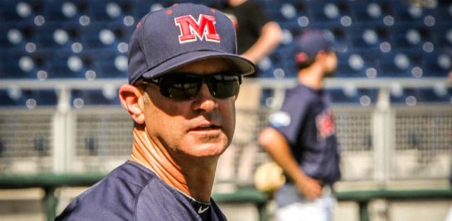 Ole Miss baseball coach Mike Bianco