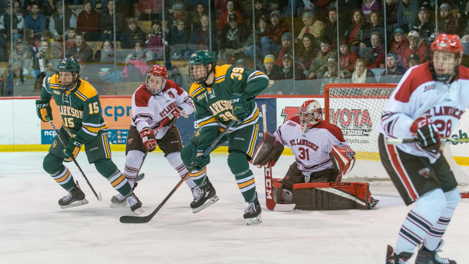 Clarkson took down arch-rival St. Lawrence to extend an impressive win  streak. 70f85068665