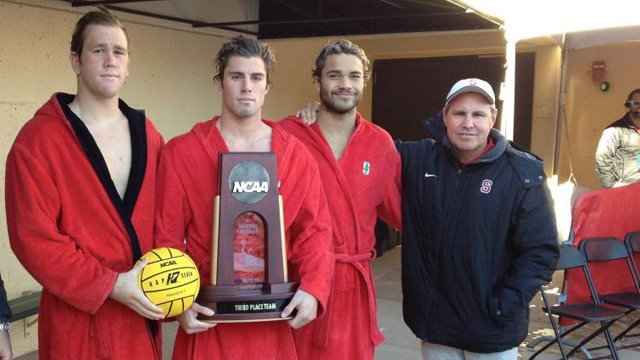water polo, Stanford, third place