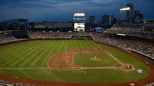 Td Ameritrade Park Is Hosting The College World Series For Sixth Year