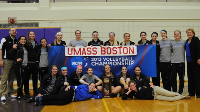 Volleyball, Division III, UMass-Boston