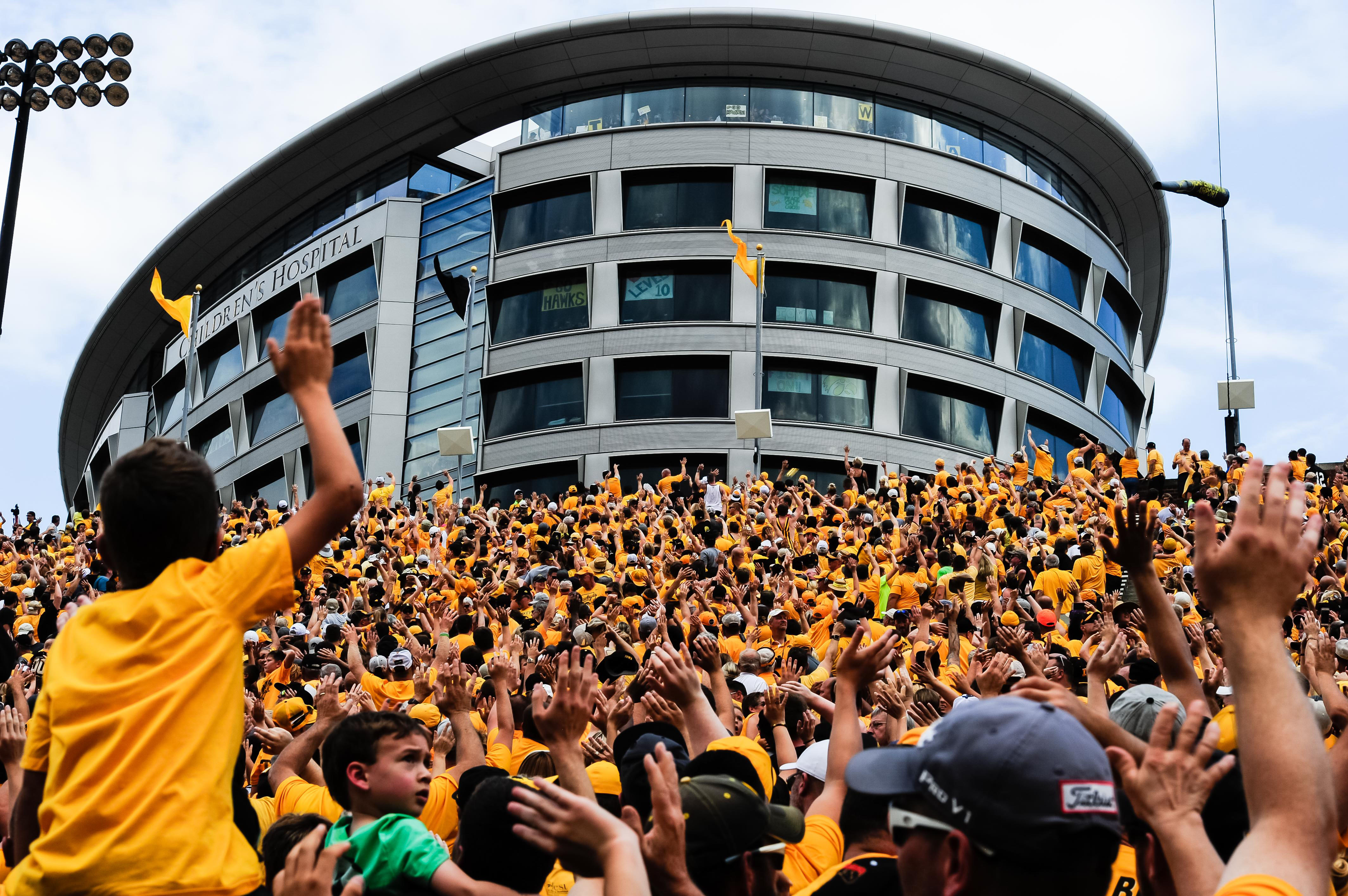 Image result for iowa wave to children's hospital