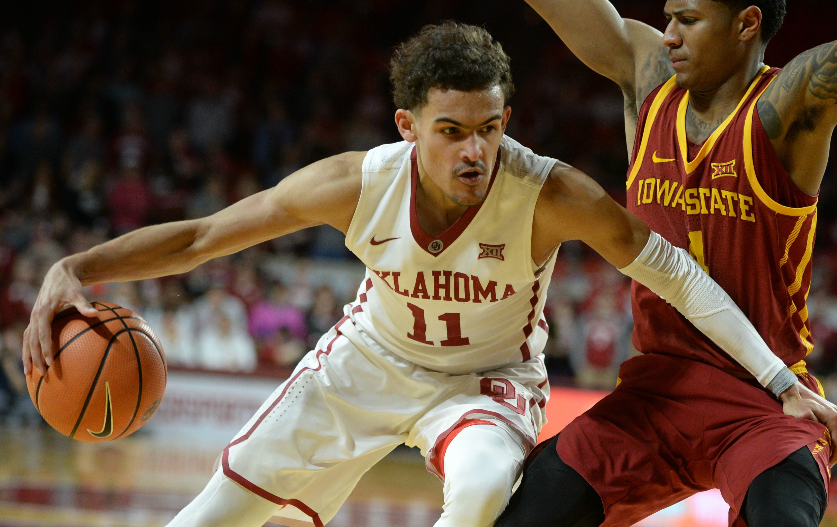 937d1680b05b Oklahoma freshman Trae Young revels in role of hometown hero