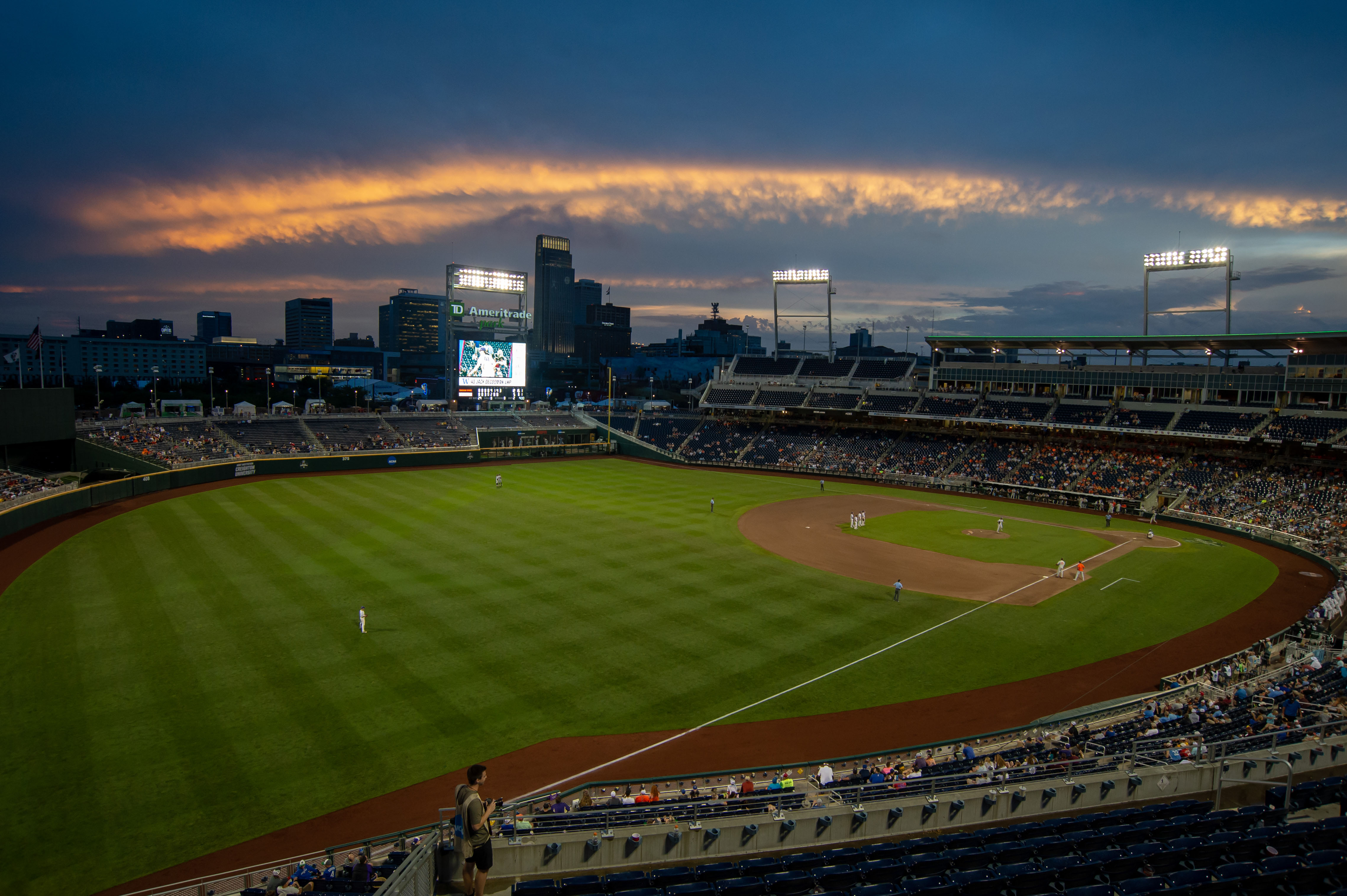 timeless design da23a ca7c6 MLB game coming to Omaha ahead of 2019 College World Series   NCAA.com