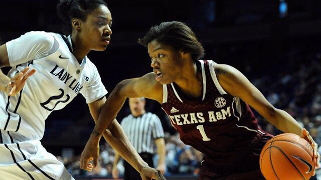 basketball, women, texas a&m