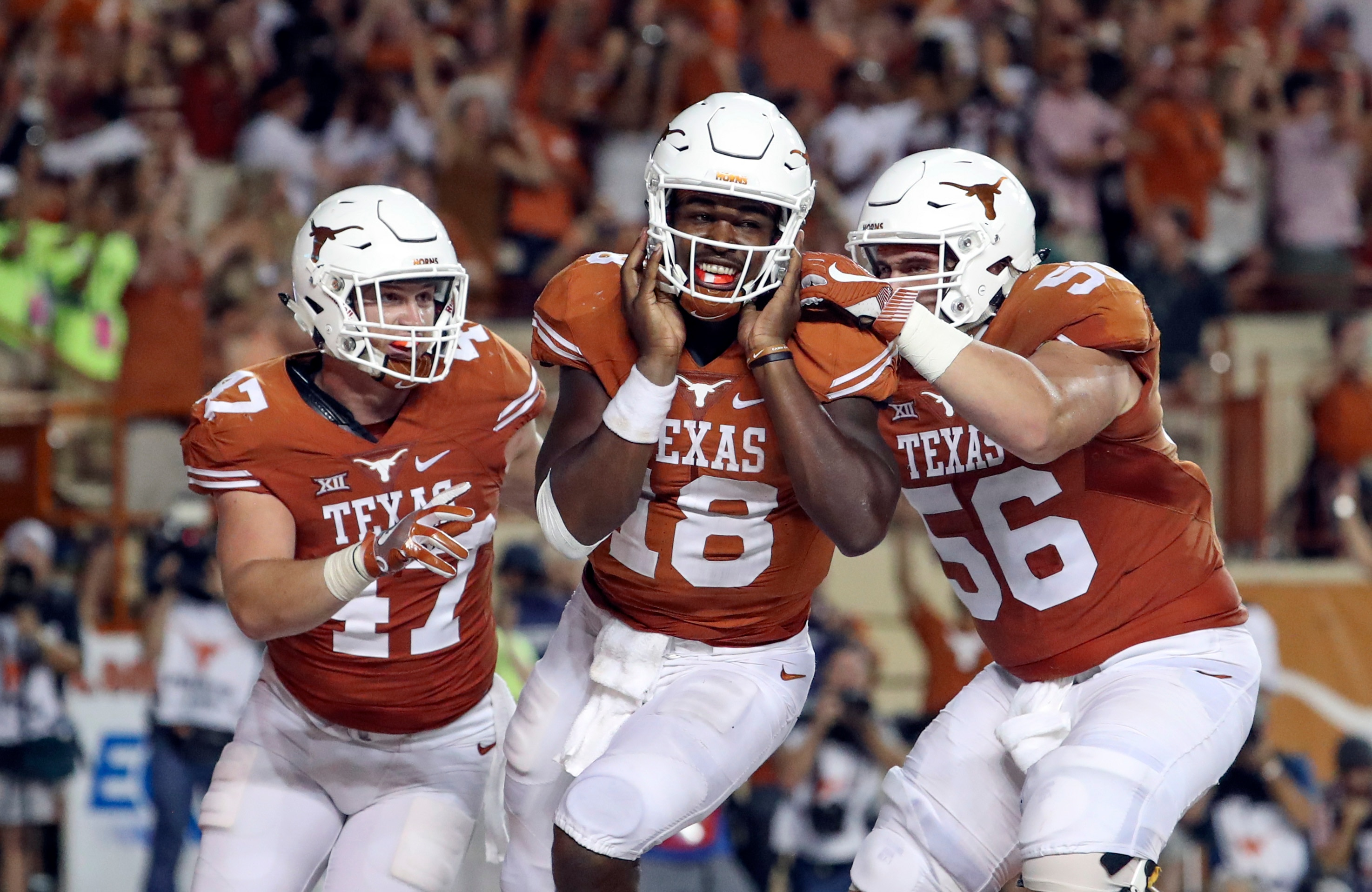 Texas  burnt orange jerseys are easily recognizable and one of the best  uniforms in the nation. 538e4e254