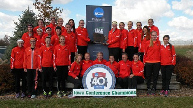 Division III cross country, women, NEWMAC