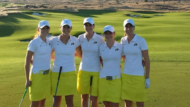 Colorado women's golf