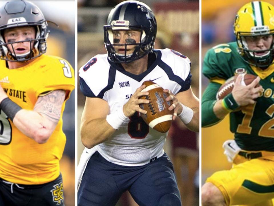 Eight North Dakota State Football Players Lead 2018 Stats Fcs All