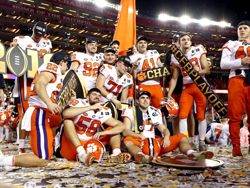 football clemson college championship ncaa 2020 champions schedule national season tv game fbs coaches teams early alabama michigan too today