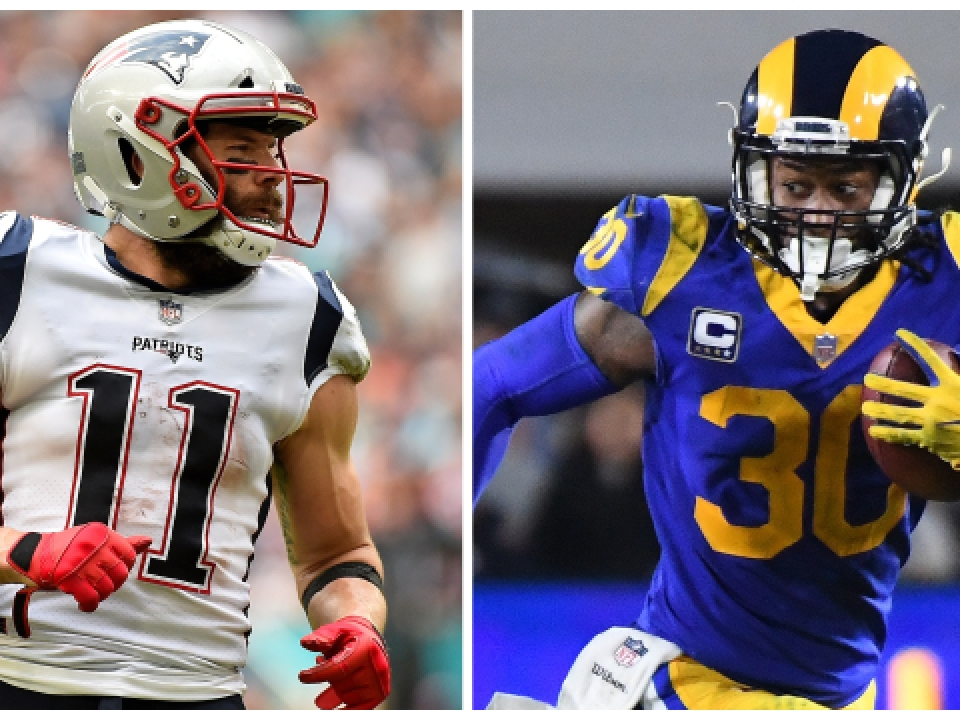 423a08f70 Super Bowl rosters  Colleges for Patriots and Rams players