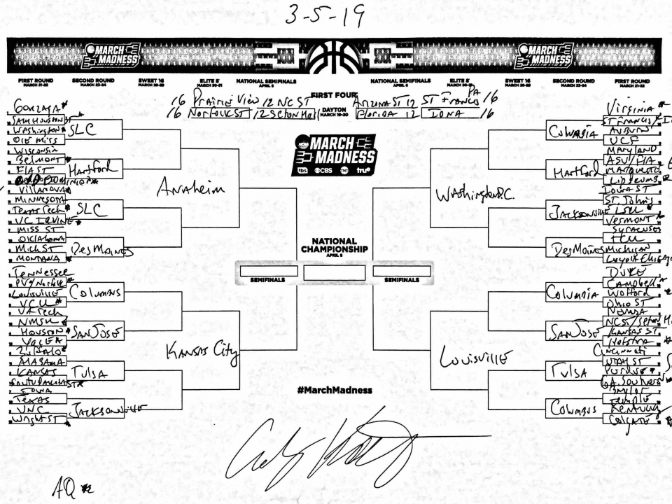 The complete March Madness field of 68, predicted in the