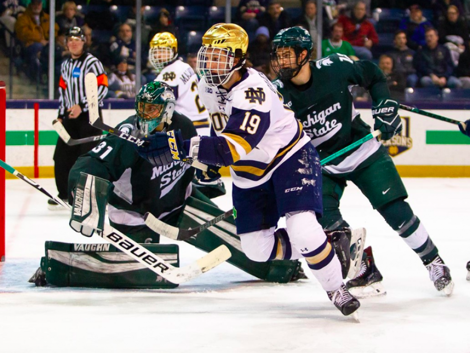 college hockey  conference tournament results