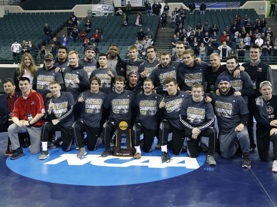 2019 DII wrestling championships: St  Cloud State wins