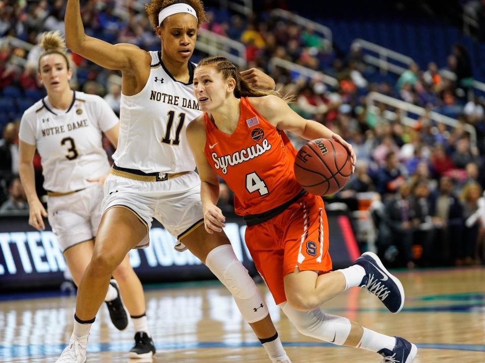 Syracuse women's basketball star Tiana Mangakahia on breast cancer diagnosis: 'I will come out stronger'