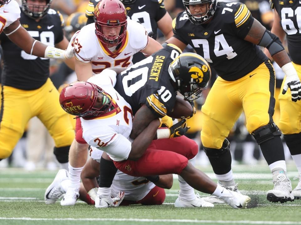 Iowa vs. Iowa State football: All-time series history ...
